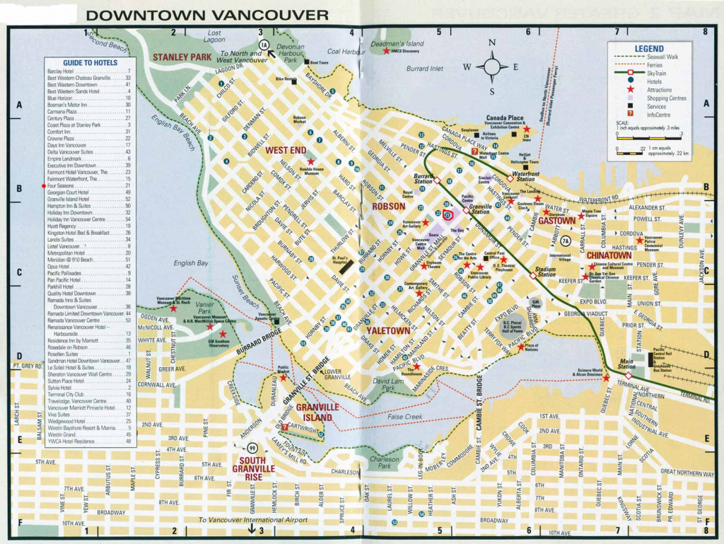 Large Vancouver Maps For Free Download And Print | High-Resolution pertaining to Printable Map Of Vancouver