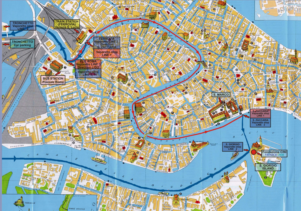 Large Venice Maps For Free Download And Print | High-Resolution And in Printable Walking Map Of Venice Italy