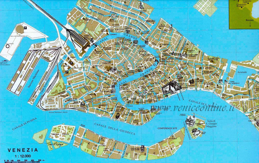 Large Venice Maps For Free Download And Print | High-Resolution And regarding Venice City Map Printable