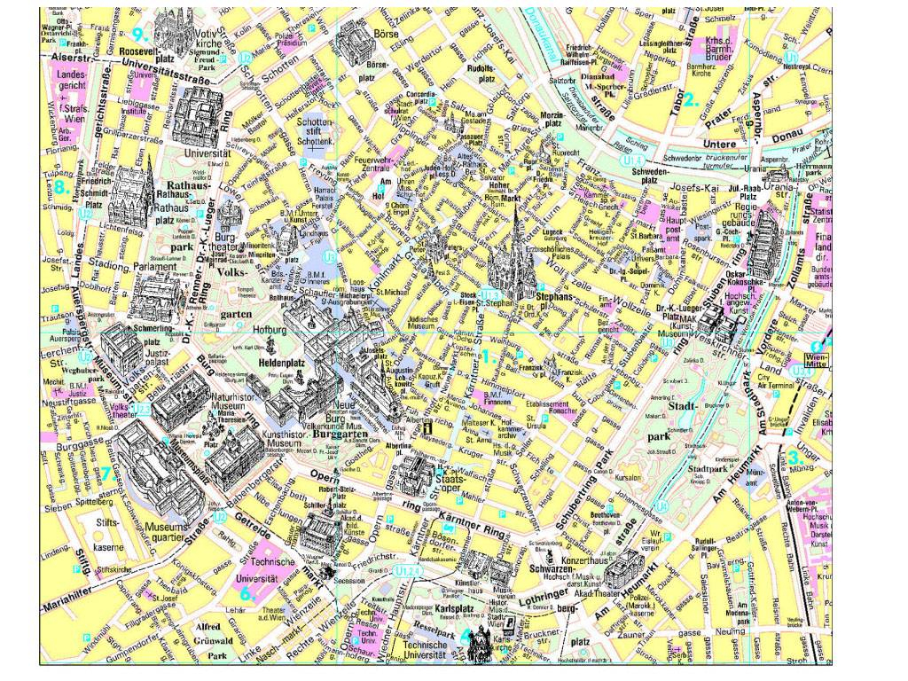 Large Vienna Maps For Free Download And Print | High-Resolution And within Vienna Tourist Map Printable