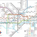 Large View Of The Standard London Underground Map   This Is Exactly With Central London Tube Map Printable