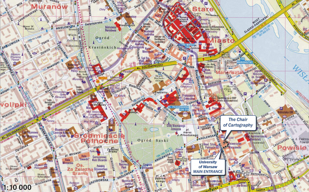 Large Warsaw Maps For Free Download And Print | High-Resolution And inside Warsaw Tourist Map Printable