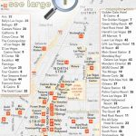 Las Vegas Maps   Top Tourist Attractions   Free, Printable City Pertaining To Printable Map Of Las Vegas Strip With Hotel Names