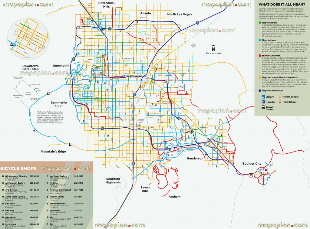 Las Vegas Maps - Top Tourist Attractions - Free, Printable City throughout Las Vegas Printable Map