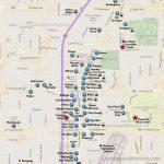 Las Vegas Strip Map (2019) Within Printable Vegas Strip Map