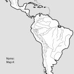 Latin America Blank Map | Ageorgio Pertaining To Blank Map Of Central And South America Printable