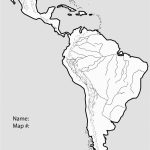 Latin America Map Black And White Best Of South Blank Political Throughout Free Printable Map Of South America