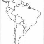 Latin America Printable Blank Map South Brazil Maps Of Within And For Printable Blank Map Of South America