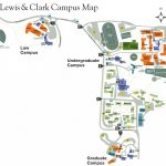 Lewis And Clark College Map   Map Of Lewis And Clark College (Oregon Throughout Lewis And Clark Printable Map
