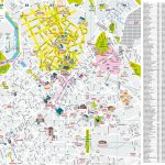 Lille City Centre Map   Printable Map Of Lille City Centre (Hauts De Inside Printable Map Of Lille City Centre
