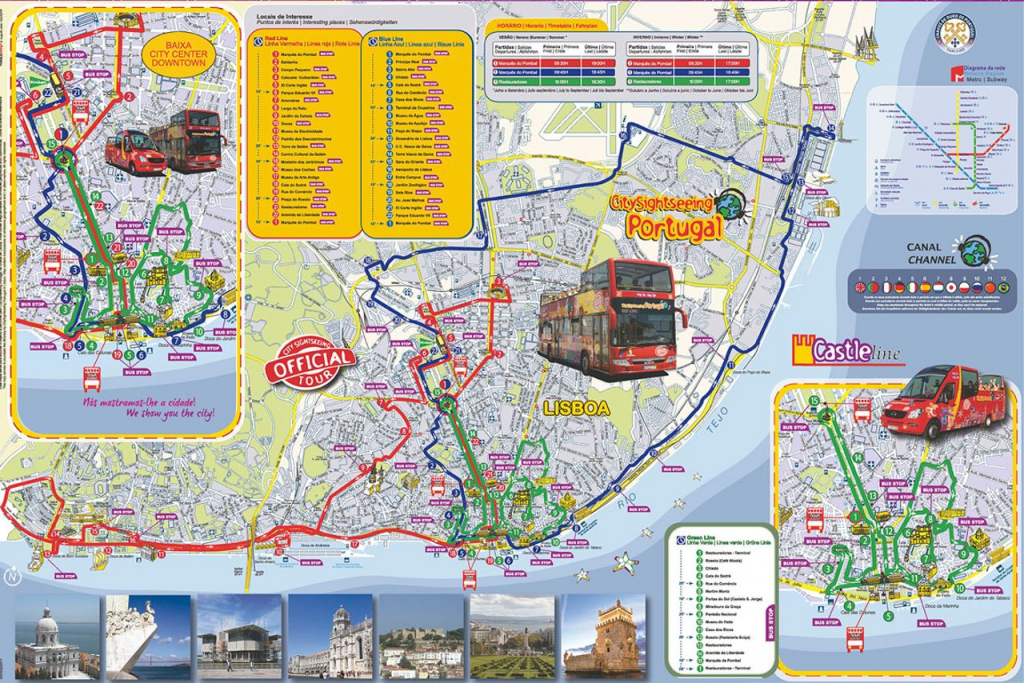 Lisbon Attractions Map Pdf - Free Printable Tourist Map Lisbon for Lisbon Tourist Map Printable
