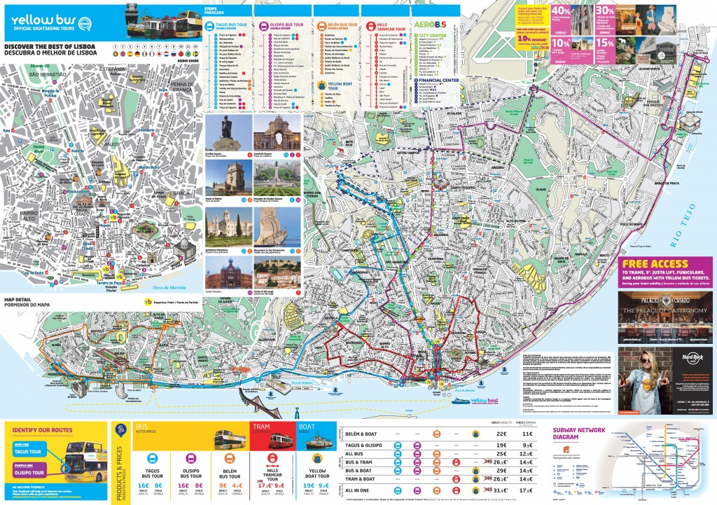 Lisbon Attractions Map Pdf - Free Printable Tourist Map Lisbon inside Lisbon Tourist Map Printable