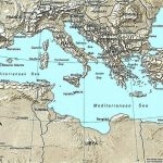 List Of Mediterranean Countries   Wikipedia Regarding Printable Map Of The Mediterranean Sea Area
