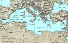 List Of Mediterranean Countries – Wikipedia regarding Printable Map Of The Mediterranean Sea Area