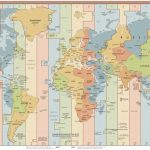List Of Utc Time Offsets   Wikipedia For World Map Time Zones Printable Pdf