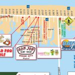 Local Maps | Ocean City Md Chamber Of Commerce Within Printable Map Of Ocean City Md Boardwalk
