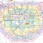 London Attractions Map Pdf   Free Printable Tourist Map London In London Sightseeing Map Printable
