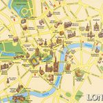 London Attractions Map Pdf   Free Printable Tourist Map London With Regard To London Sightseeing Map Printable
