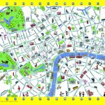London Detailed Landmark Map   London Maps   Top Tourist Attractions Within Map Of London Attractions Printable