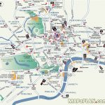 London Map Tourist Attractions Printable | Globalsupportinitiative For Printable Tourist Map Of London Attractions
