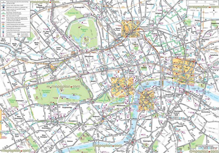 Free Printable City Street Maps