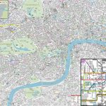 London Maps   Top Tourist Attractions   Free, Printable City Street In London Street Map Printable
