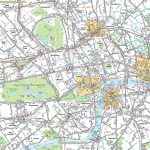 London Maps – Top Tourist Attractions – Free, Printable City Street intended for Printable Street Maps Free
