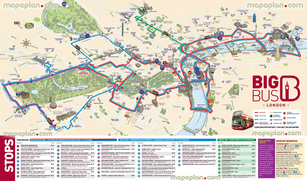 London Maps - Top Tourist Attractions - Free, Printable City Street with regard to London Sightseeing Map Printable