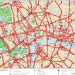London Top Tourist Attractions Printable City Street Map   Printable For Printable Street Map Of Central London
