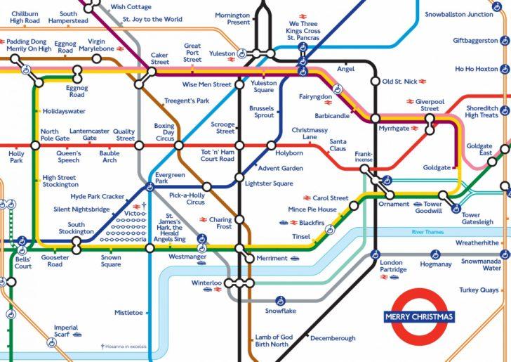 Printable Tube Map