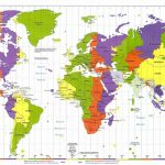 Longitude Latitude World Map And Travel Information | Download Free Regarding Printable World Map With Latitude And Longitude