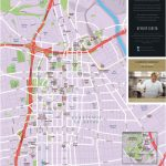 Los Angeles Downtown Tourist Map With Regard To Printable Map Of Los Angeles