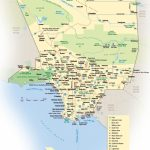 Los Angeles Maps | California, U.s. | Maps Of L.a. (Los Angeles) With Printable Map Of Los Angeles County