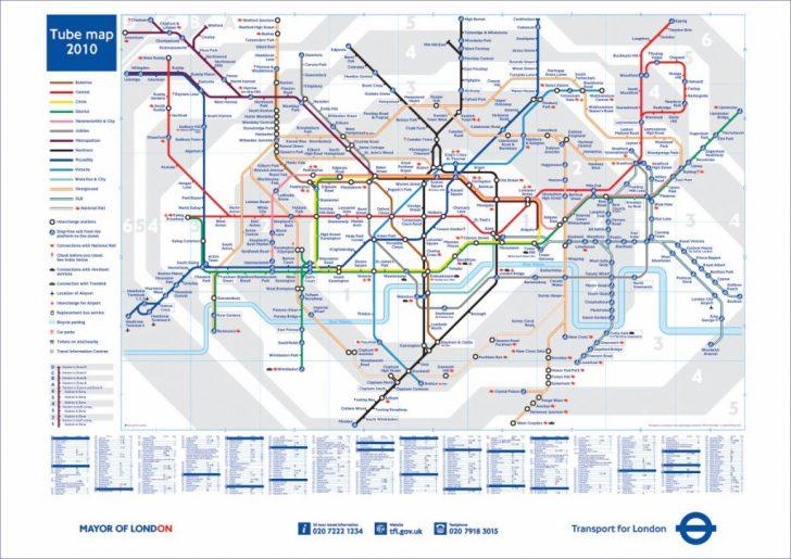 Printable London Tube Map 2010
