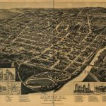 Macon, Ga. County Seat Of Bibb County 1887. | Library Of Congress For Printable Map Of Macon Ga