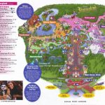 Magic Kingdom Guidemaps With Regard To Printable Maps Of Disney World Theme Parks