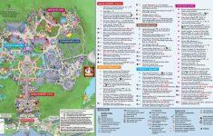 Printable Epcot Map