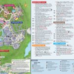 Magic Kingdom Park Map   Walt Disney World Regarding Printable Disney Park Maps
