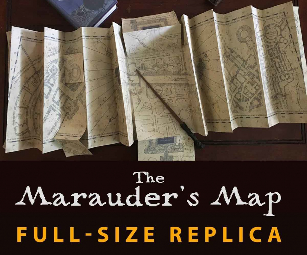 Magical Harry Potter Printables | For The Kids | Harry Potter within Marauder's Map Replica Printable