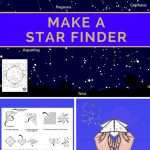 "Make A Star Finder    Fold A Printable Sky Map Like A Paper ""fortune In Printable Sky Map"
