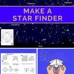 "Make A Star Finder    Fold A Printable Sky Map Like A Paper ""fortune Within Printable Star Map"