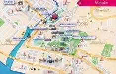 Melaka Tourist Map Printable