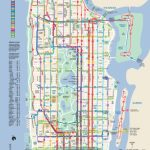 Manhattan Bus Map | New York Metropolitan Area | Bus Map, Map, Map With Printable Manhattan Bus Map