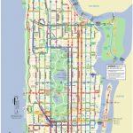 Manhattan Bus Map Pertaining To Printable Manhattan Bus Map