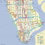Manhattan On A Map And Travel Information | Download Free Manhattan Inside Printable Manhattan Bus Map
