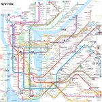 Manhattan Subway Map Printable | Printable Maps Throughout Manhattan Subway Map Printable