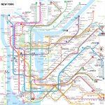 Manhattan Subway Map Printable | Printable Maps Within Printable New York Subway Map