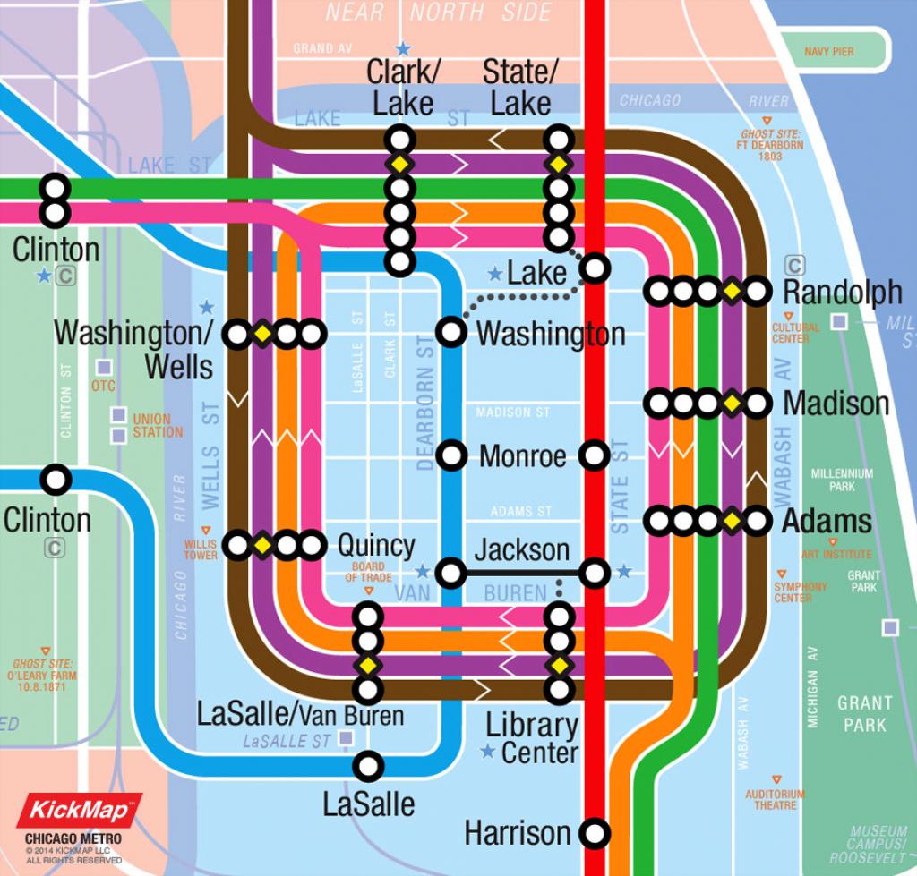 Map Chicago Loop | Afputra inside Chicago Loop Map Printable