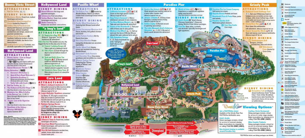 Map Disney California Adventure Printable Printable Disney Maps inside Printable Disney Maps