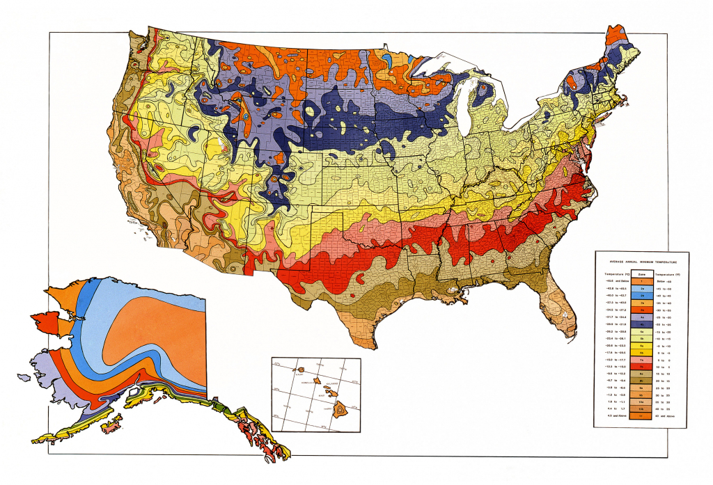 Map Downloads | Usda Plant Hardiness Zone Map for Printable Usda Hardiness Zone Map